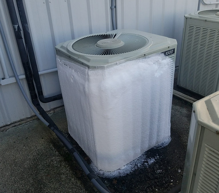 Heat Pump Troubleshooting During Winter – Frozen or Icing up